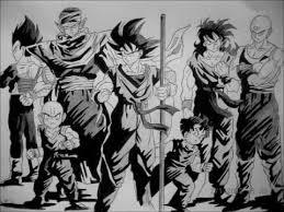 drawing main dragon ball characters
