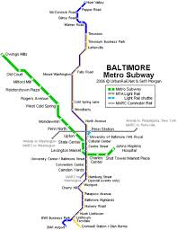 baltimore light rail map rebuilding place in the urban space a proposal to extend the