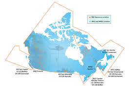 Moncton Canada Map by Search And Rescue Royal Canadian Air Force