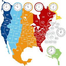 canadian map with time zones time zones and area codes c h express inc