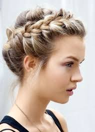wedding hairstyles braids with veil bridal hair updos for long