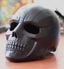 ghost rider mask costume batman arkham origins black mask main villain face value