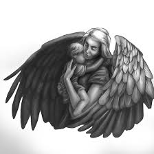 angel child tattoo by chilli49shorty on deviantart
