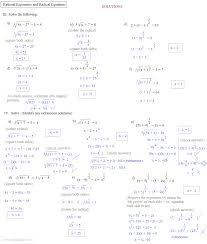 solving rational equations worksheet algebra 1 tessshebaylo