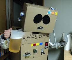 Robot Halloween Costume Creative Halloween Costume Ideas Ent13