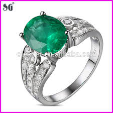 fashion gem rings images Fashion jewelry china supplier king 39 s crown shape 18k white gold jpg