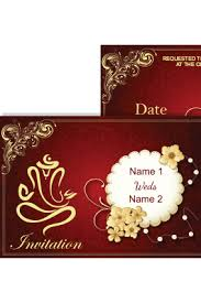 online marriage invitation buy personalized wedding invitation cards online in india with