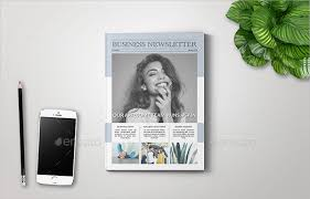 27 business newsletter templates free u0026 premium download