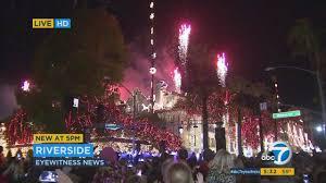 downtown riverside festival of lights 5 million holiday lights fireworks at festival of lights in
