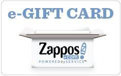 e giftcards send a zappos gift card or e gift card