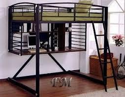 Black Bunk Bed With Desk 22 Best Metal Loft Bed Ideas Images On Pinterest Bunk Beds