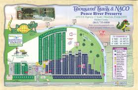 Florida Campgrounds Map by Peace River Rv U0026 Camping Resort Thousand Trails 4 Photos 1