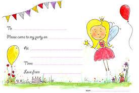 snowfairy creative fairy and monster birthday invitations