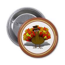 sold thanksgiving turkey pilgrim pin shipping to