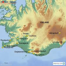 northern lights location map iceland tour hidden powers northern lights 6 days nordic travel