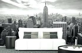 poster chambre ado peinture york noir et blanc deco york chambre ado 8 nyc nb