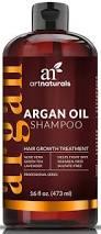 amazon com art naturals organic argan oil hair loss shampoo for