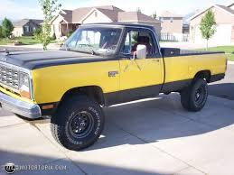 Dodge Ram Yellow - 1983 dodge ram 150 power ram id 28282