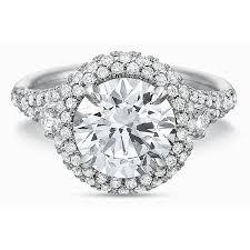 precision set rings precision set flush fit platinum diamond semi mount engagement ring