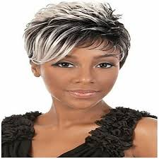 gray hair pieces for american synthetic hair wigs straight curly african american wig capless