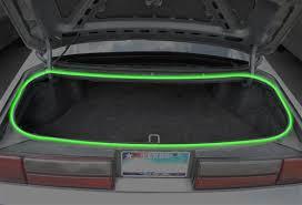 mustang convertible trunk door to hatch trunk weatherstrip kit 79 93