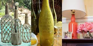 Wine Bottle Home Decor 9 Diy Crafts You Can Make Using Empty Spirit Bottles Cool Ideas