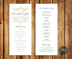 classic wedding programs 8 best wedding ideas wedding invitations wedding programs