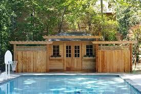 sonoma pool cabana summerwood