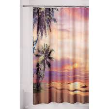 Purple And Brown Shower Curtain Essential Home Shower Curtain Twilight Fabric Home Bed U0026 Bath