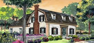 gambrel house plans architectual styles