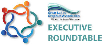 members of the round table great lakes graphics association glga executive roundtable major