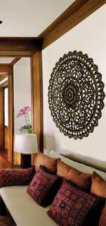 wood carved wall plaque floral wood wall panels asiana