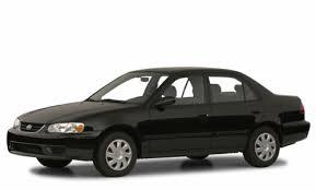 2001 toyota corolla value 2001 toyota corolla overview cars com