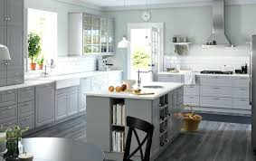 ikea grey kitchen cabinets ikea kitchen images a large grey country kitchen with a lot of