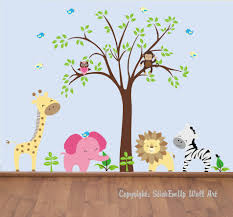 Wall Decals For Baby Room Wall Decals Print Baby Room Jungle Wall Decals 27 Baby Nursery