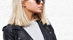 medium length blunt haircuts women hairstyle ware