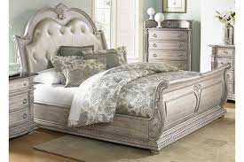 Tufted Sleigh Bed Palace Ii King Size Upholstered Sleigh Bed 1394n By Homelegance