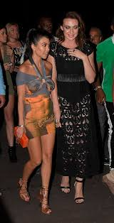 kourtney kardashian parties with younes bendjima in cannes daily