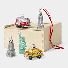 new york ornament set moma store 70 tis the season