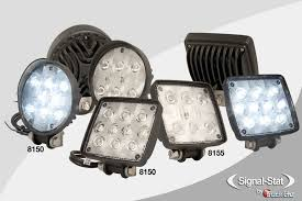 led work lights for trucks truck lite adds white led auxiliary work ls to signal stat lineup