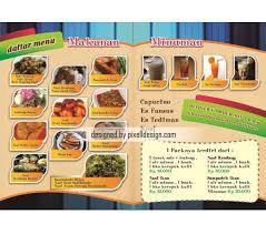 cara membuat brosur makanan contoh brosur makanan paling menarik