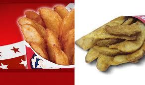 KFC Style Potato Wedges