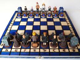 doctor who chess set for sale on etsy all about josh pinterest