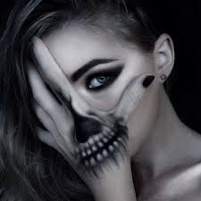 Halloween Skeleton Face Makeup by Category Archive For