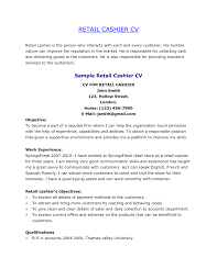 Example Of Retail Resume by How To Explain Cashier On Resume Resume For Your Job Application