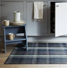 kitchen and home interiors plaid kitchen u0026 home mat on food52