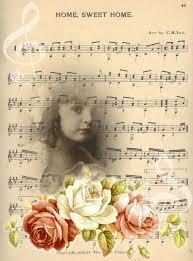 sweet home sheets bg home sweet home musicsheet cw genealogy scrapbooking