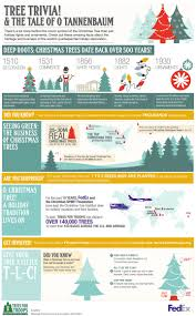 little known facts about the christmas tree infographic