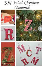 easy diy initial ornaments fab haute official