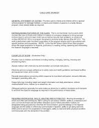 foster care social worker sample resume inspirational factory